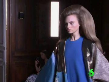 Imagen de una modelo de Vogue