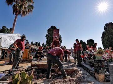 Excavaciones fosa Paterna