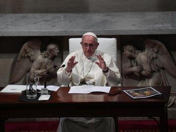 El papa Francisco en una foto de archivo