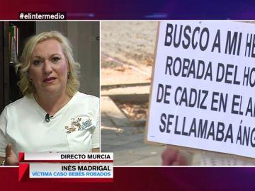 """Inés Madrigal, sobre el caso de bebés robados: """"¿Va a permitir la justicia que queden impunes quienes nos destrozaron la vida?"""""""