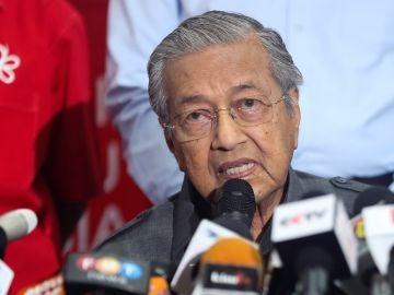 Mahathir Mohamad primer ministro de Malasia