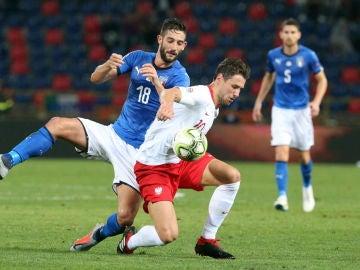 Italia contra Polonia en la Nations League
