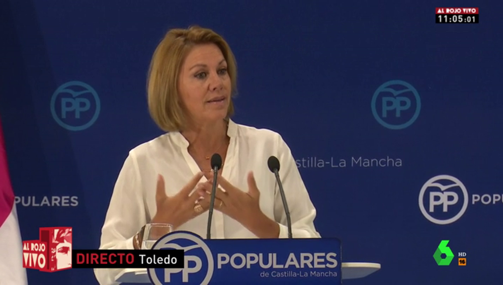 María Dolores de Cospedal deja la presidencia del PP en Castilla-La Mancha