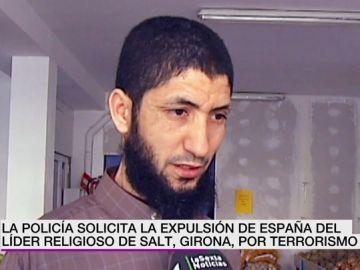 La Policía solicita la expulsión de España del líder religioso de Salt, Girona, por terrorismo
