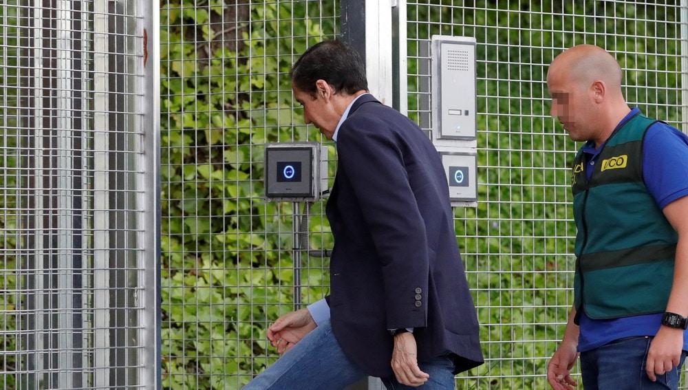 Eduardo Zaplana, el expresidente de la Generalitat valenciana