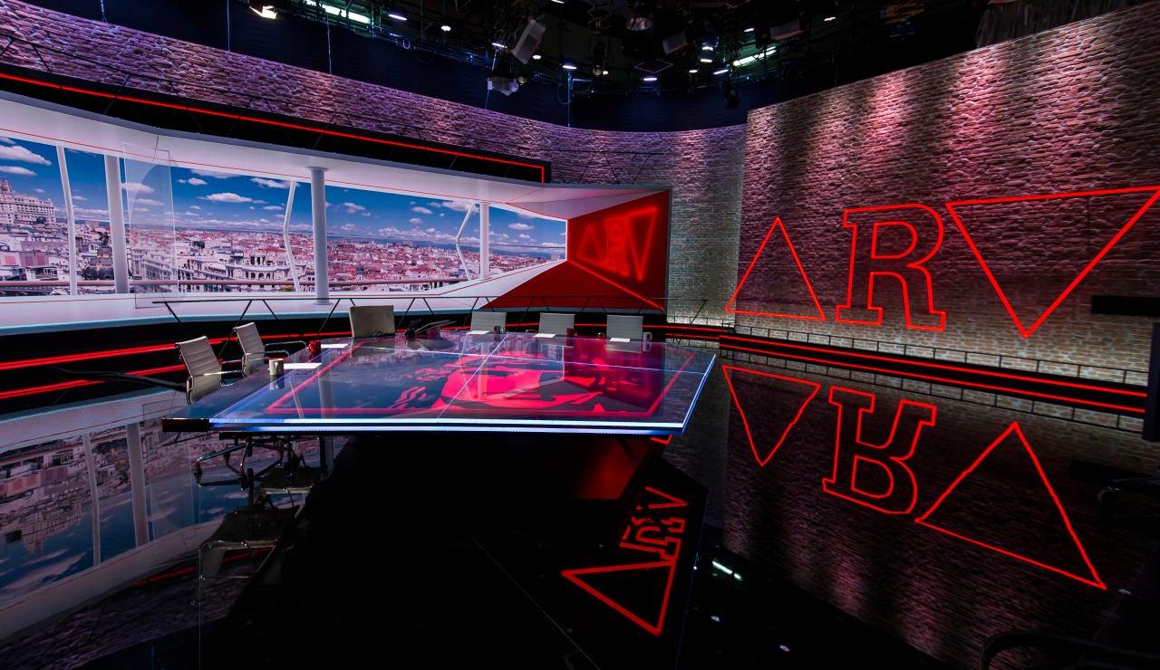 Imagen del nuevo plató de ARV