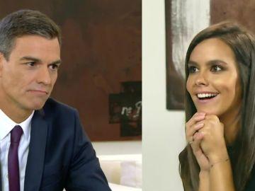 Pedro Sánchez y Cristina Pedroche