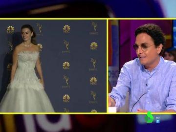 Josie desvela el detalle del espectacular vestido de Penélope Cruz en los Emmy del que casi nadie se había dado cuenta
