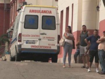 Imagen de archivo de una ambulancia en La Habana