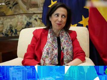 """Arusitys muestra """"el aire"""" que tiene Margarita Robles con Carmen Machi"""