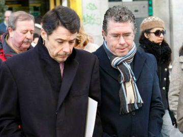 Ignacio González y Francisco Granados en una imagen de archivo