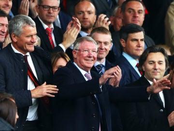 Alex Ferguson, en Old Trafford