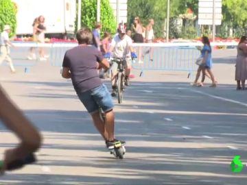 Calles sin tráfico en la Semana Europea de la Movilidad