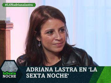 Adriana Lastra en laSexta Noche