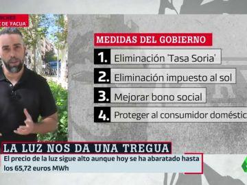 """Rubén Sánchez, Facua: """"Es falso que el bono social tiene un 25% o 40% de descuento sobre la factura"""""""