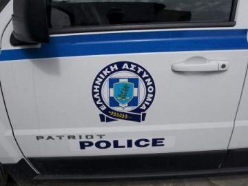 Coche de Policía griega