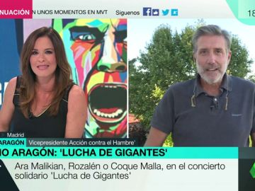 """Emilio Aragón presenta su concierto solidario: """"Gigantes son todos aquellos que le plantan cara al hambre todos los días"""""""