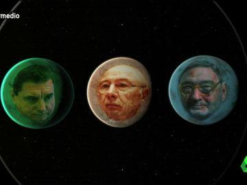 """Ha ocurrido un fenómeno que sólo """"ocurre una vez cada mil millones de años"""" : """"Rodrigo Ratitz, Jaumarcurio Matas y Narcís Serratoide se han alineado"""""""