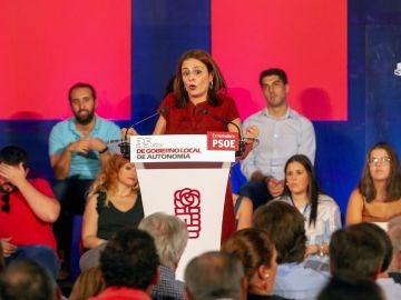 La portavoz socialista en el Congreso, Adriana Lastra