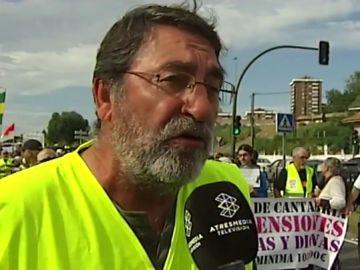Manifestación por las pensiones dignas en Santander