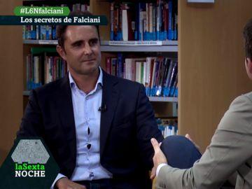 Hervé Falciani, en laSexta Noche