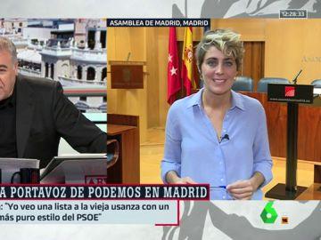 Antonio García Ferreras y Lorena Ruiz-Huertas