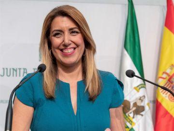 La presidenta de la Junta de Andalucía, Susana Díaz
