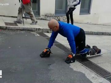 Pepe 'el gateador' busca el récord Guinness