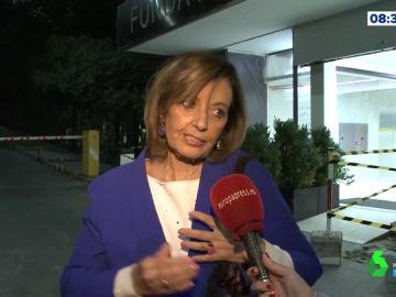 """María Teresa Campos, """"contenta"""" con el postoperatorio de Terelu"""