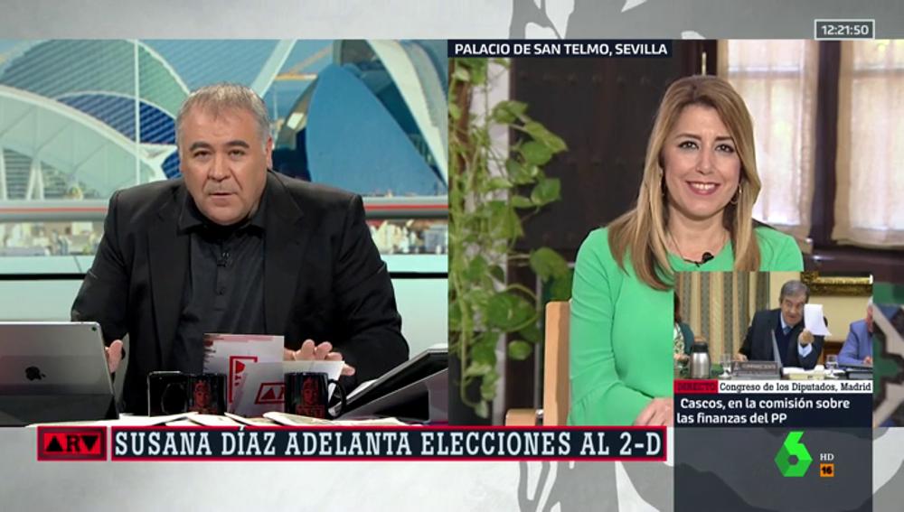 Antonio García Ferreras y Susana Díaz