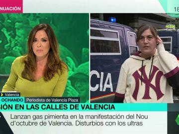 """Loreto Ochando, sobre las manifestaciones de extrema derecha: """"Valencia es el 'Aquarius', no esto"""""""