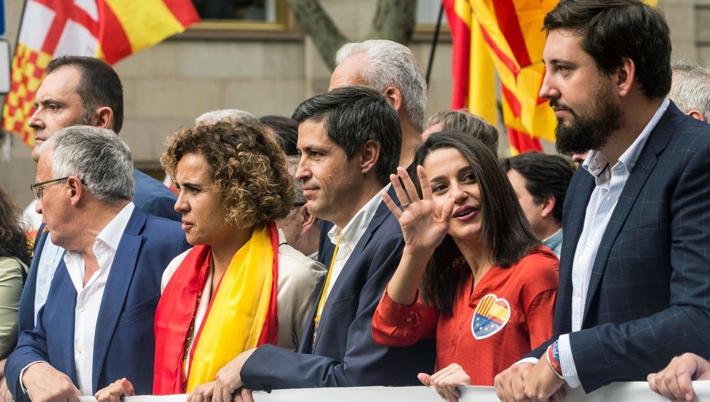 La lider de Ciudadanos en Cataluña, Inés Arrimadas