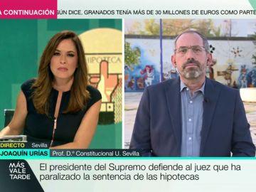 """Joaquín Urías, tras la decisión del Supremo: """"Cuando pierden las familias no se revierte la jurisprudencia. Cuando pierde la banca, sí"""""""