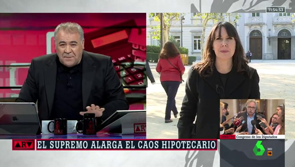 Antonio García Ferreras y Beatriz Parera