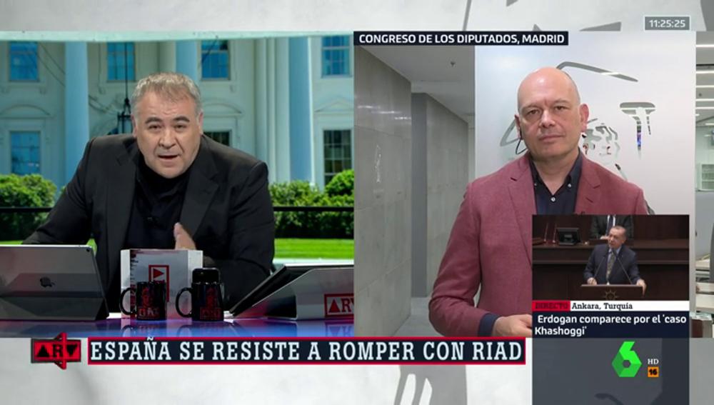 Antonio García Ferreras y Gabriel Sanz