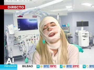 Leonor Lavado encarna a Leticia Sabater para hablar de su operación estética