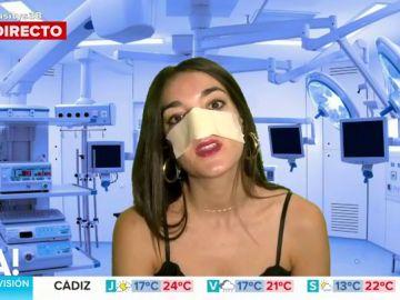 Leonor Lavado 'en clave' de Isa Pantoja niega que se haya operado la nariz