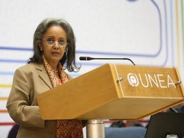 La embajadora Sahlework Zewde, nombrada presidenta de Etiopía