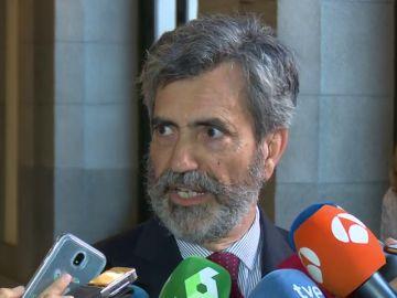 Carlos Lesmes, presidente del Supremo