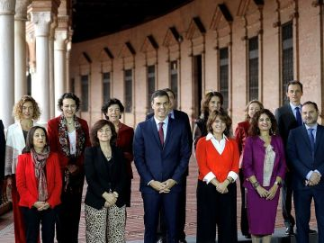 Consejo de ministros celebrado en Sevilla