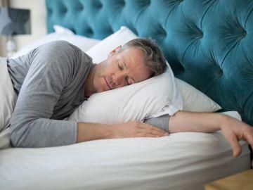 Imagen de una persona durmiendo