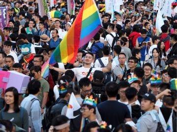 Marcha LGTBI en Taiwán