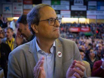 El president de Cataluña Quim Torra
