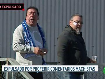 El CP San Cristóbal retira el carnet de socio y prohíbe la entrada al campo a la persona que profirió insultos machistas al trío arbitral femenino