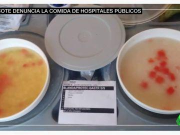 comida hospitales
