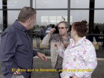 """Habla una paciente indignada con su dieta en el hospital de Barbanza: """"El pescado viene con un olor que no hay quien lo coma"""""""