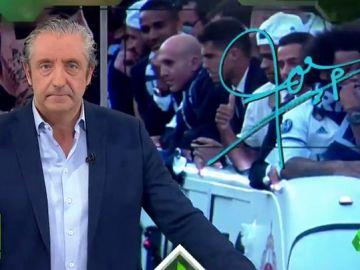 """Josep Pedrerol: """"""""No hay que ser un palmero para defender a Ramos. Siempre da la cara, y lo más importante: ¡sabe pedir perdón!"""""""