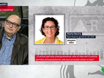 """Marta Rovira: ¿Cuántas partidas presupuestarias valen mi libertad? Estos PGE siguen siendo los de un Gobierno represor y opresor"""""""