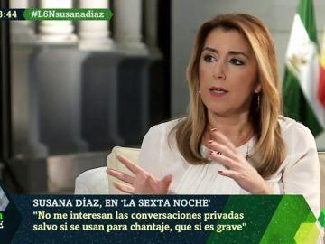 """Susana Díaz, sobre la venta de armas a Arabia Saudí: """"Los trabajadores de la bahía de Cádiz tienen derecho a ganarse la vida"""""""