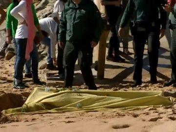 Encuentran el cadáver de otros de los migrantes desaparecidos en Barbate